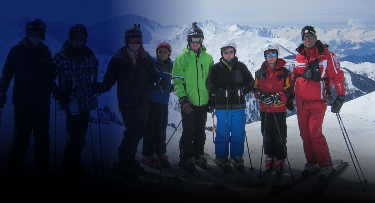 Skiing trip with OSH