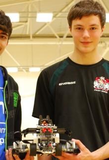 Robot winners